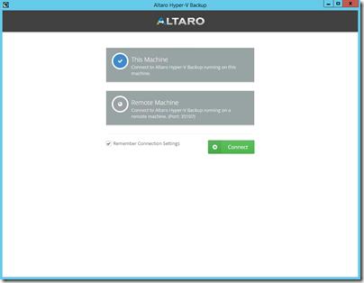 Altaro Hyper-V Backup v5